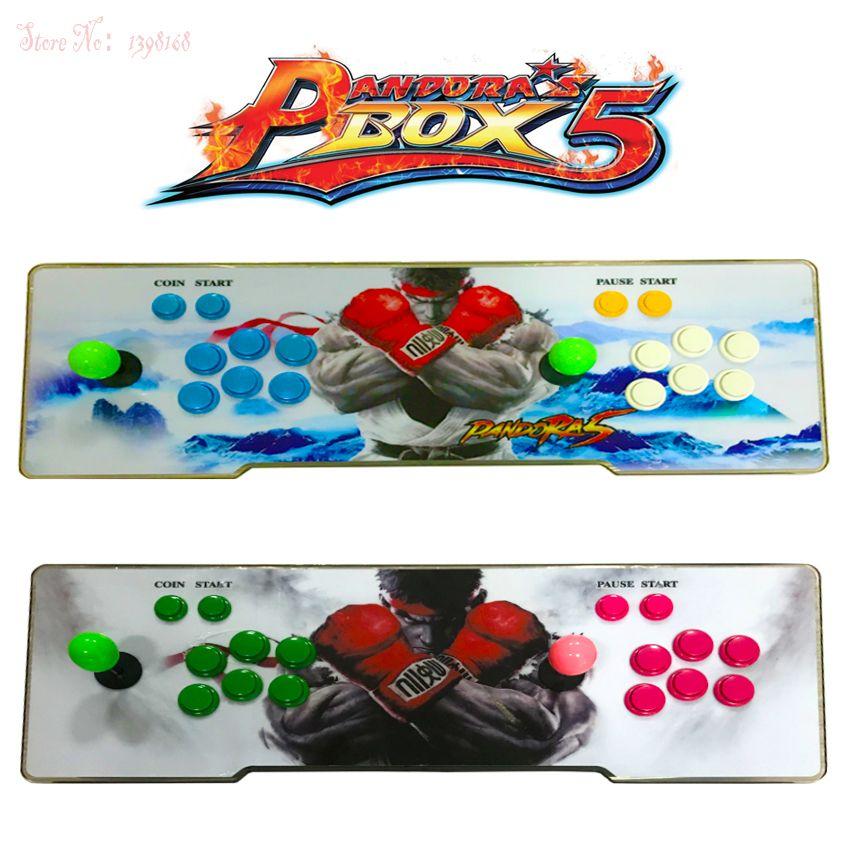 Pandora box 5 960 in 1 arcade control kit joystick usb tasten null verzögerung 2 spieler HDMI VGA arcade konsole controller TV PC