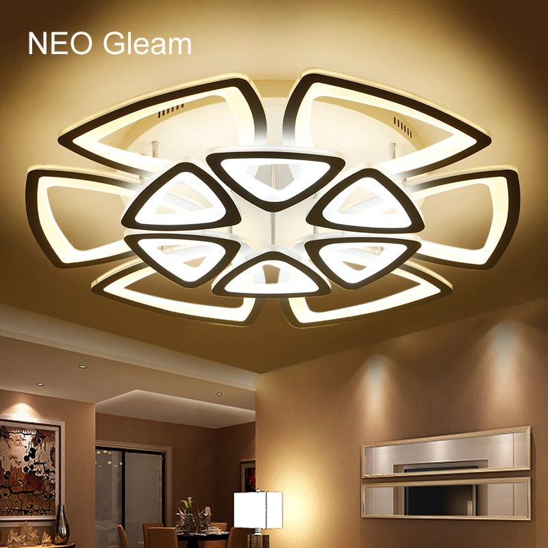 Minimalist Modern led ceiling Chandelier lights for living room bedroom AC 85-265V Home Decorative Chandelier lamp Free Shipping