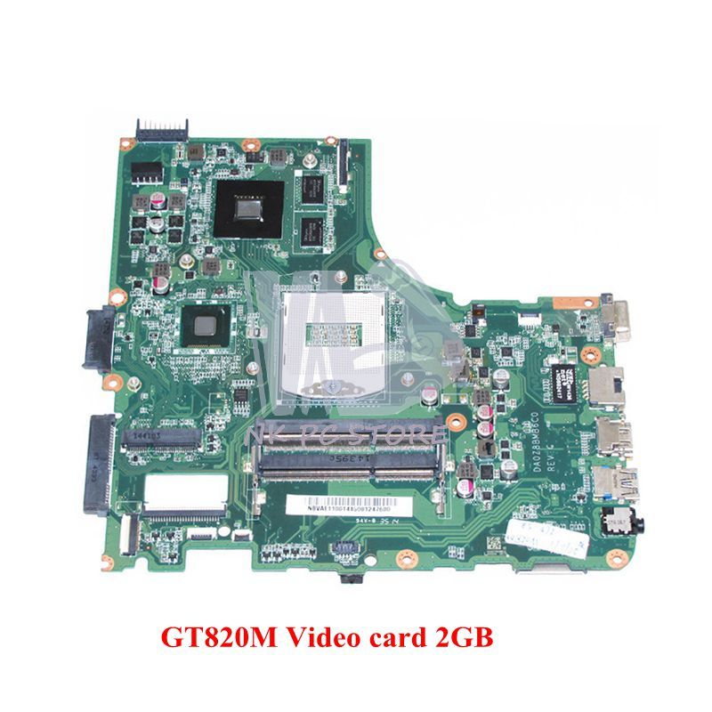 NOKOTION DA0Z8BMB6C0 NBVAE11001 NB.VAE11.001 MAIN BOARD For Acer aspire E5-472 Laptop Motherboard GT820M 2GB Video card