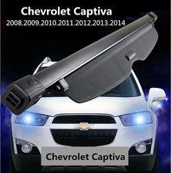 Mobil Belakang Trunk Keamanan Perisai Cargo Sarung Untuk Chevrolet Captiva 2008 09 2010 2011 2012 2013 2014 Berkualitas Tinggi Otomatis aksesoris
