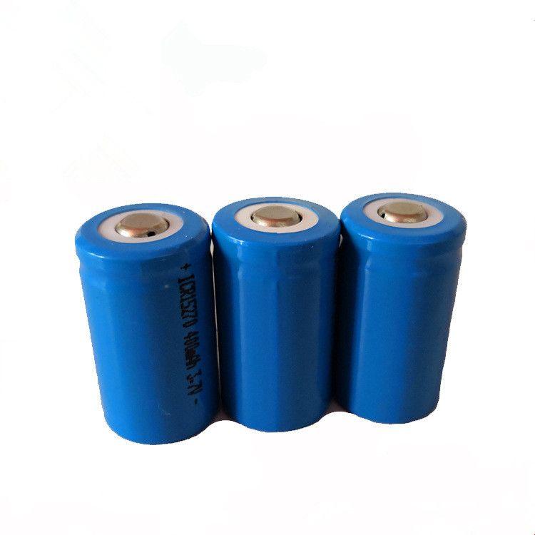 Batterie Rechargeable Li-ion 2017 ICR 15270 400 mAh 3.7 V