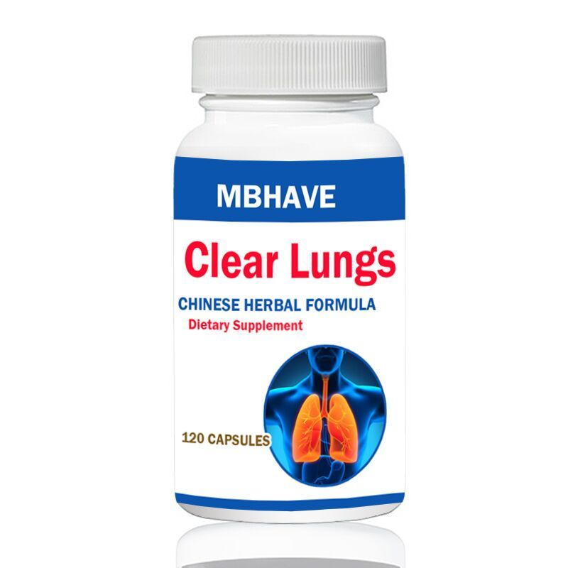 Clear Lung Lung Cleansing Formula 120 units  FREE SHIPPING