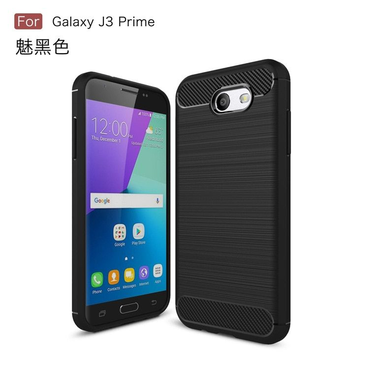 Dir-Maos For Samsung Galaxy J3 Prime Case ARMOR TPU Cover Rugged Shock Proof Business Wire Carbon Fibre Line Sport Business HOT