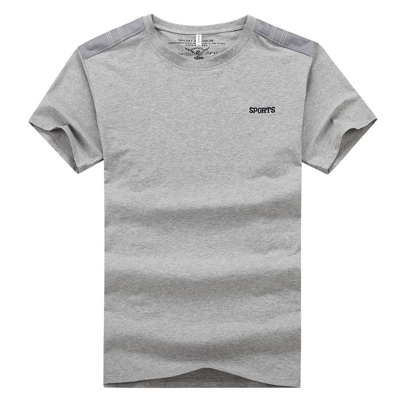 Big Size Men Running T Shirts  6XL 7XL 8XL 9XL Gym Sports Tops 2017 Summer New Cotton Breathable Fitness Workout Jogging Tshirts