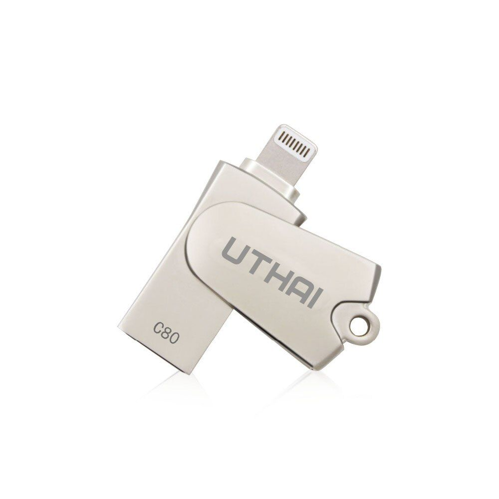 UTHAI C80 Lightning Micro SD/TF OTG Card Reader USB 2.0 Memory Mini Cardreader for iPhone 6/7/8 Plus iPod iPad OTG Card Reader