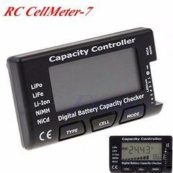 Capacité De La Batterie numérique Checker RC CellMeter 7 Pour LiPo LiFe Li-ion NiMH Nicd