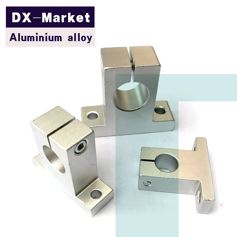 SK8 , 8pcs/lot , aluminium alloy Support seat , Linear guide rail support  Chinese high quality fasteners