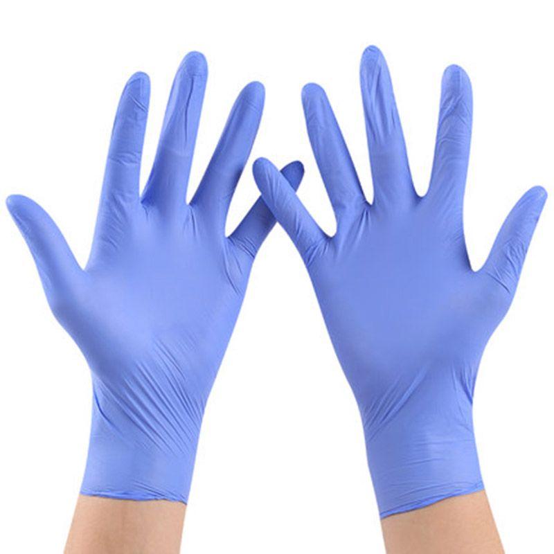 50 ou 100 pièces gants jetables en Latex pour le nettoyage à la maison gants jetables de nettoyage des aliments gants universels pour la main gauche et droite