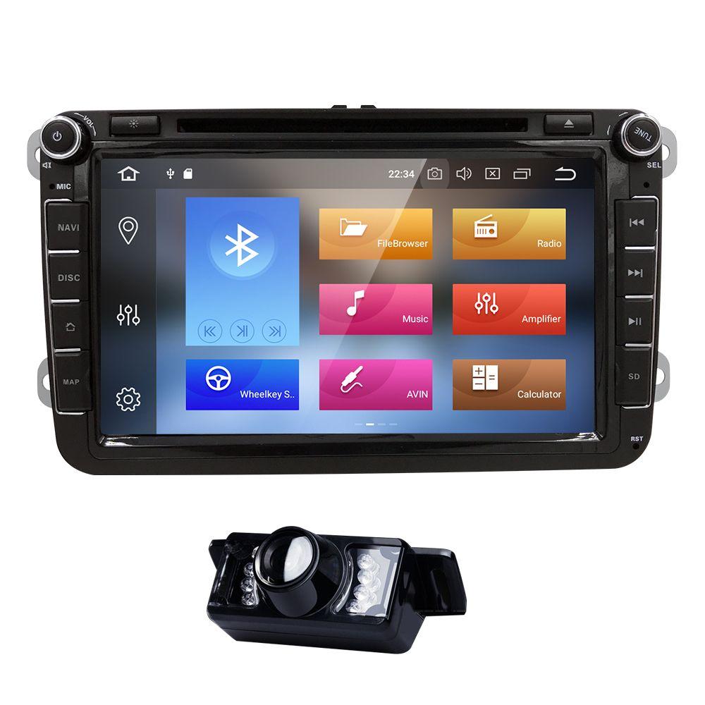 2Din Android 8.0 Auto DVD Radio Multimedia für VW passat b6 b5 Amarok VW T5 sharan eos caddy touran skoda octavia 2 Polo Golf 5 6
