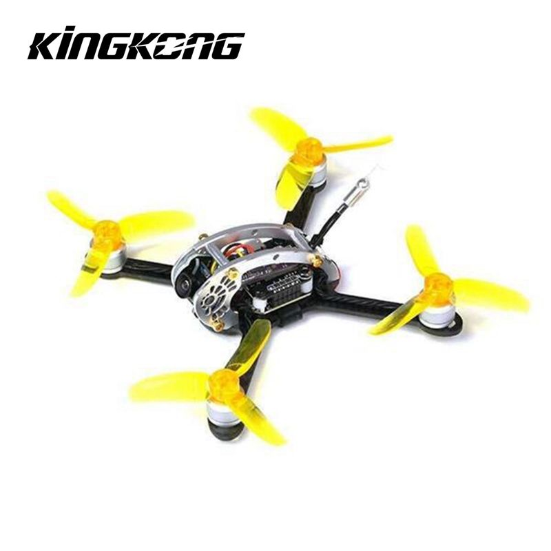 Kingkong FLY EGG 100 100mm Racing RC Drone w/ F3 10A 4in1 Blheli_S 25/100MW 16CH 800TVL FPV Quadcopter DIY PNP BNF
