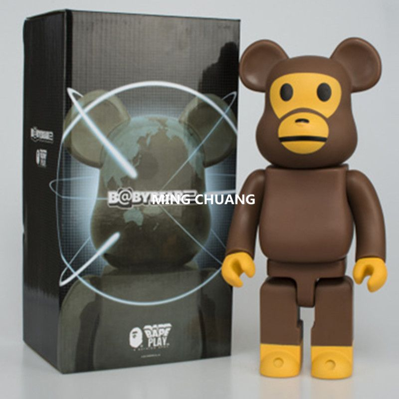 11 Inches Be@rbrick 400% Bearbrick Orangutan Gloomy BB PVC Action Figure Collectible Model Toy D169