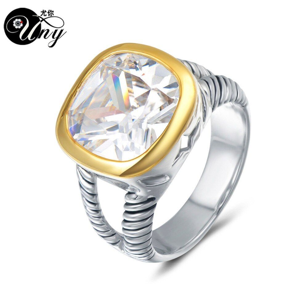 UNY Ring Twisted Cable Wire Rings Designer Fshion Brand David Vintage Love <font><b>Antique</b></font> Ring Women Jewelry Vintage <font><b>Antique</b></font> Gift Rings