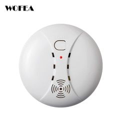 Wireless smoke detetor alarm sensor for home alarm system 315MHZ /433MHZ
