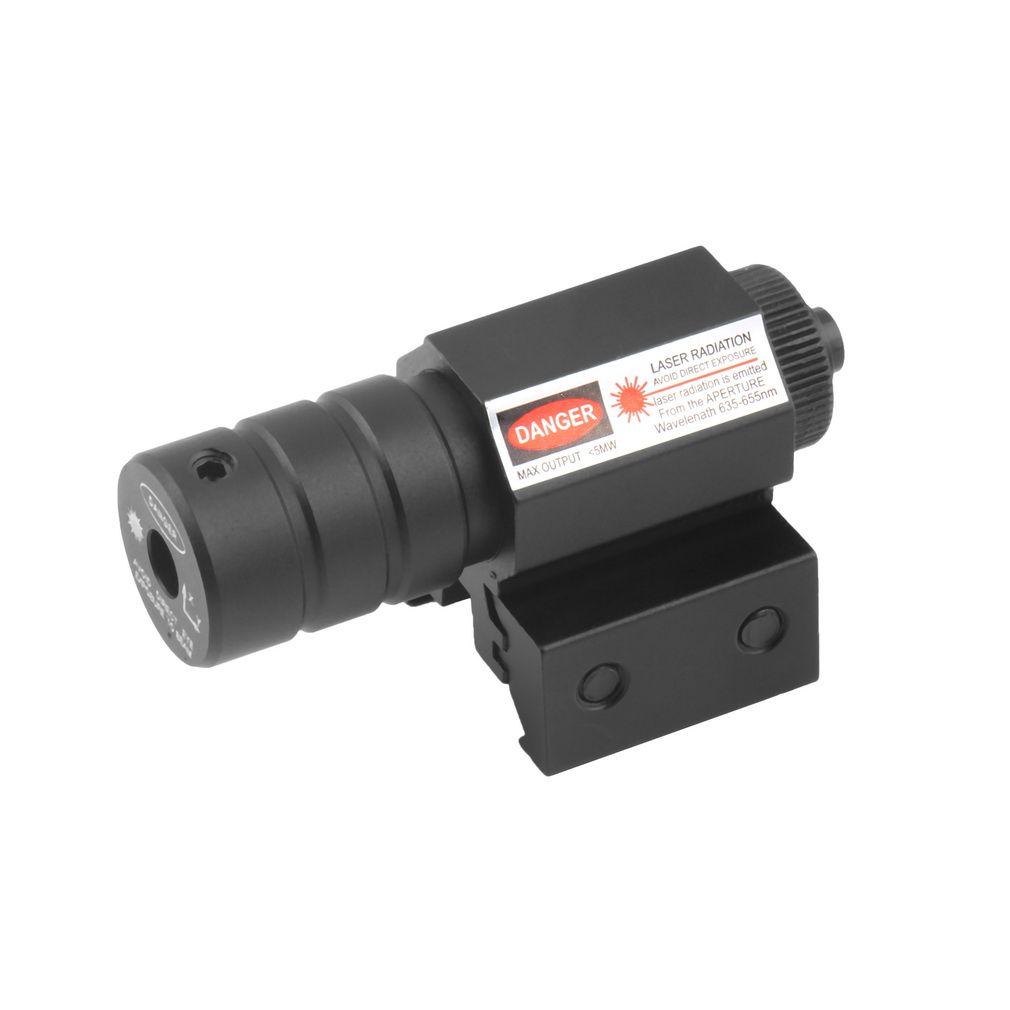 Nueva táctica Caza rojo haz de luz láser alcance la vista del punto con el montaje envío rápido