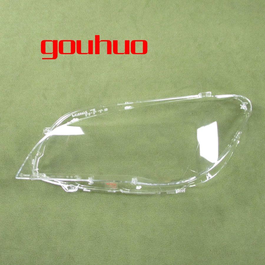 Transparent lampenschirm lampe schatten front Scheinwerfer shell scheinwerfer shell objektiv Für BMW 7 serie 09-15 F02 F01 2 stücke