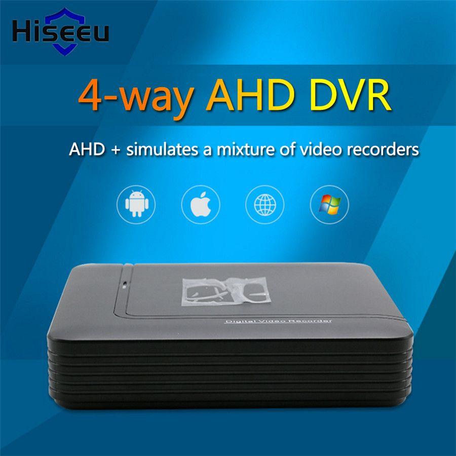 Hiseeu Nvr Mini DVR 5IN1 Pour 1080 p IP Caméra VGA HDMI Système de Sécurité Mini NVR Pour CCTV Kit Onvif DVR PTZ H.264 Dropshipping 42