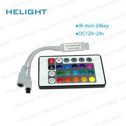 DC12V IR 24Key 44Key RGB strip controller IR Remote Controller Infrared Remote Controller for RGB LED Light Strips 5050 3528