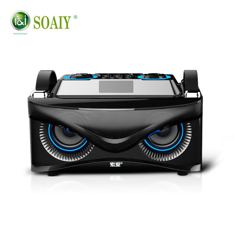 100% Original SOAIY S88 Eagle Bluetooth Bass Speaker 28W High Quality Speaker with Bass Computer Speakers big speaker