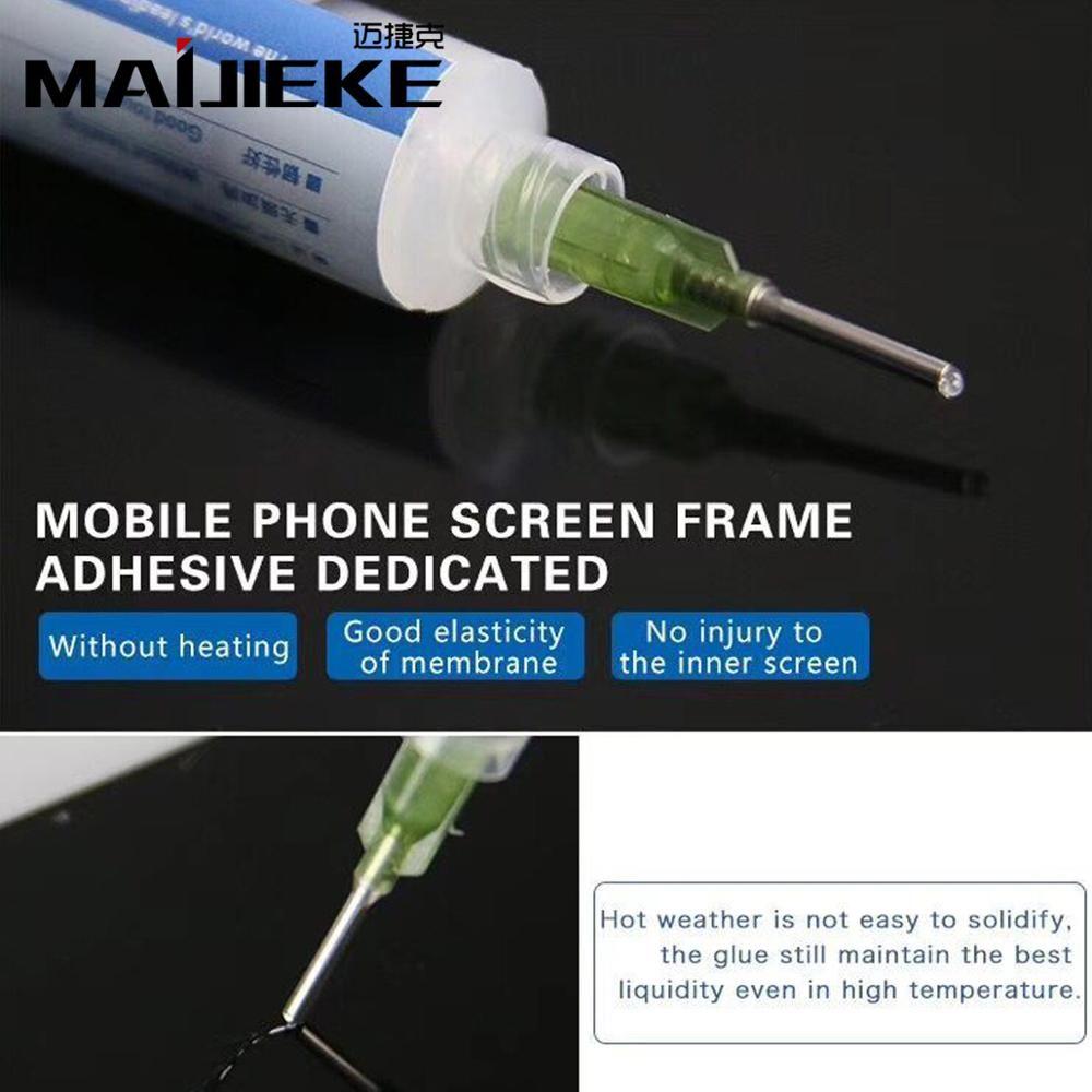 MAIJIEKE Original Klammern Klebstoff für iPhone X Rahmen Rückseite Kleber Aufkleber für Alle Telefon Pad Halterung Bindung
