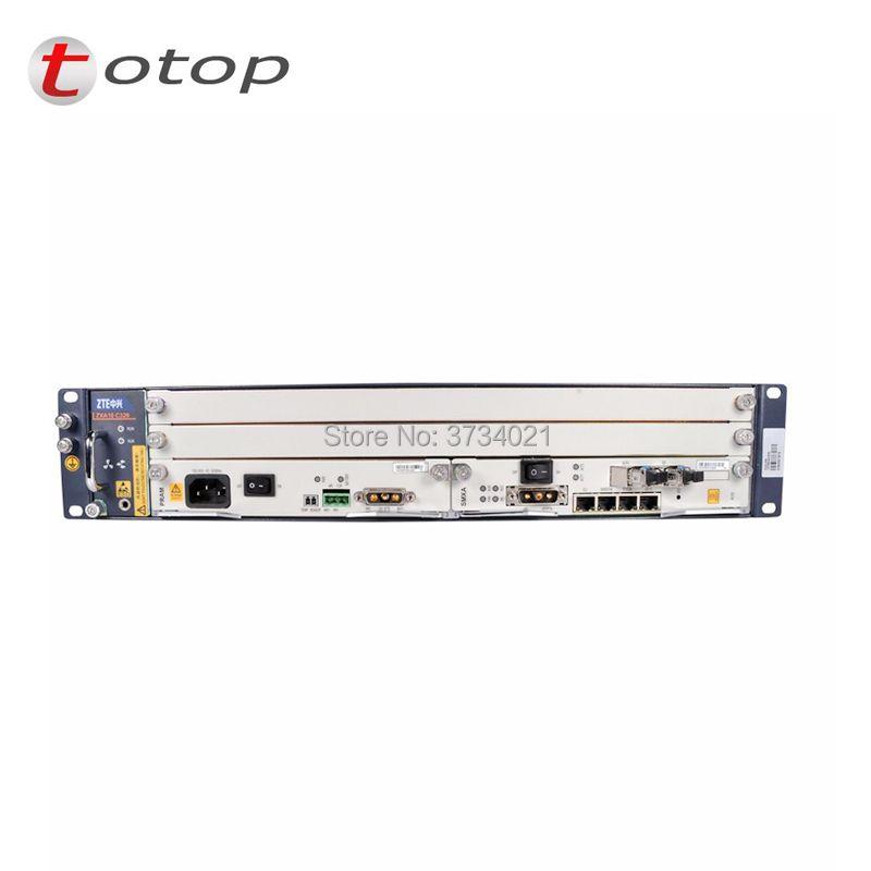 Olt zte ZTE OLT ZXA10 C320 2U Optical Line Terminal Ausrüstung, GPON oder EPON karte SMXA karte, KINDERWAGEN karte, AC + DC power versorgung