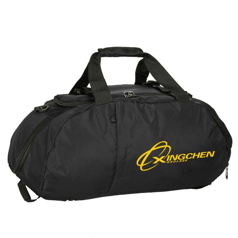 Большой Ёмкость прочного нейлона тренажерный зал спортивная сумка для Для мужчин Для женщин Фитнес Открытый путешествия тренировки Курьер...
