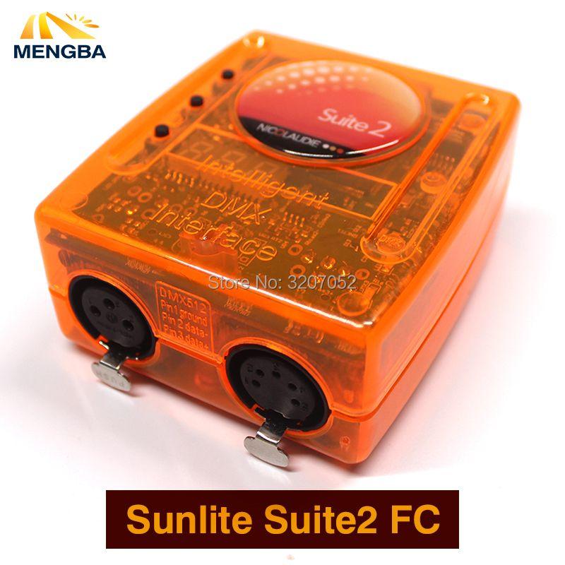 Sunlite Suite2 FC DMX-USD Controller DMX 1536 Channel good for DJ KTV Party LED Lights Stage Lighting Stage controlling software