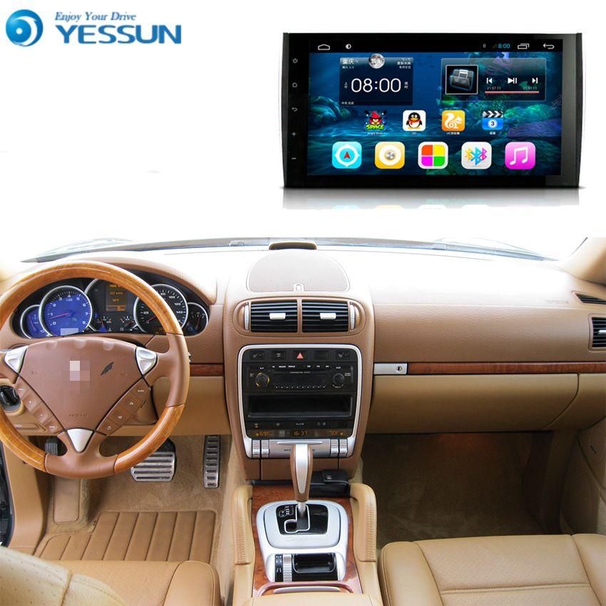 Für Porsche Cayenne 2004 ~ 2010-Auto Android Media Player System Autoradio Radio Stereo GPS Navigation Multimedia Audio Video