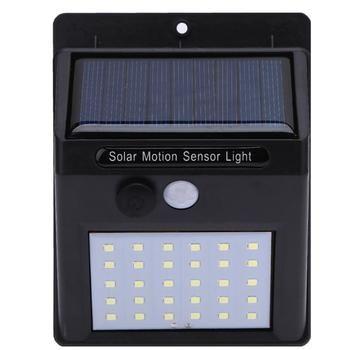 Étanche IP65 30 LED Solaire Lumière Ampoule Solaire Puissance PIR Motion Sensor Jardin Lumière Extérieure Mur Sens Solaire Lampe Mur lumière