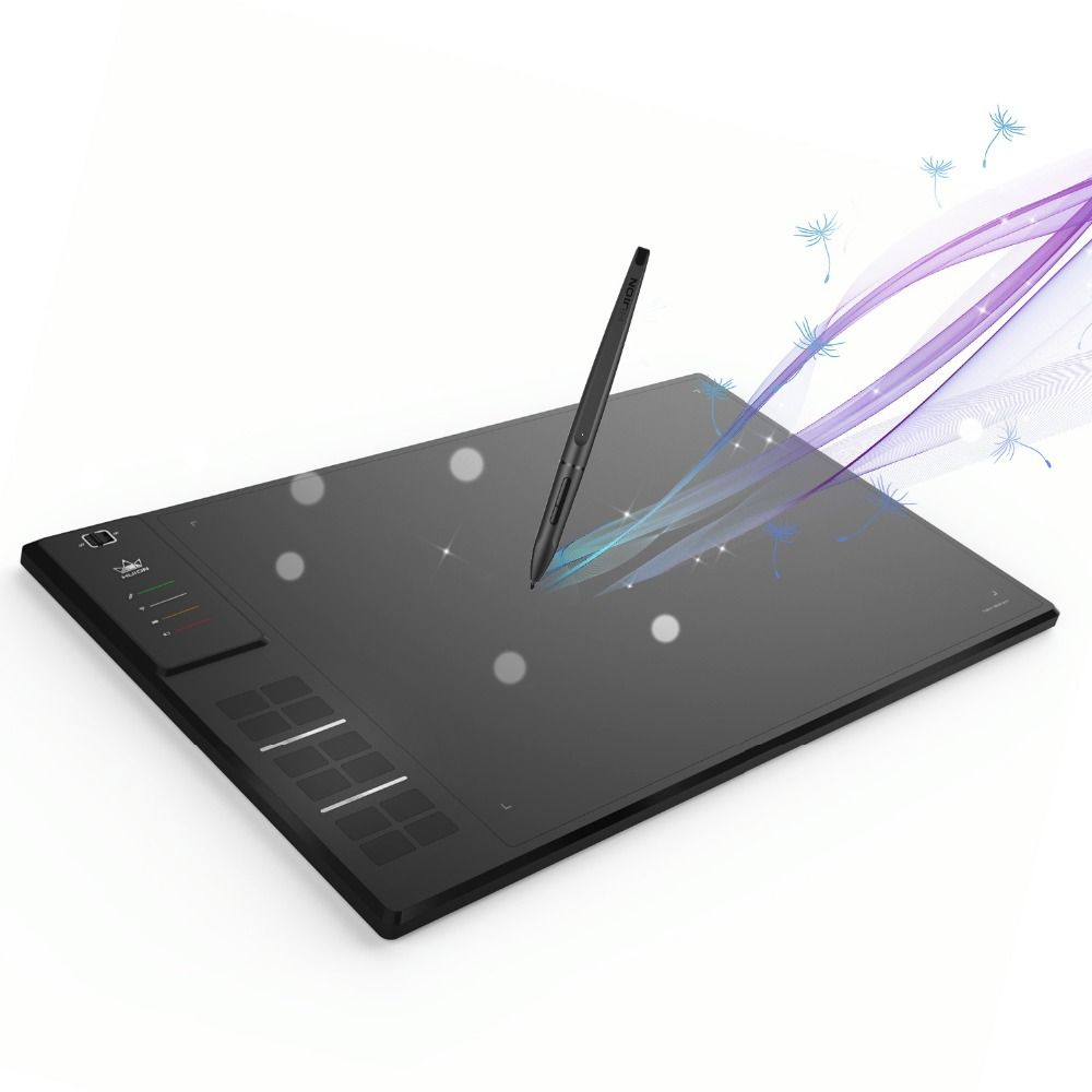Huion GIANO WH1409 14-inch 8192 Levels Wireless Digital Tablets Graphic Tablets Wire Pen Tablet Animation Drawing Tablet