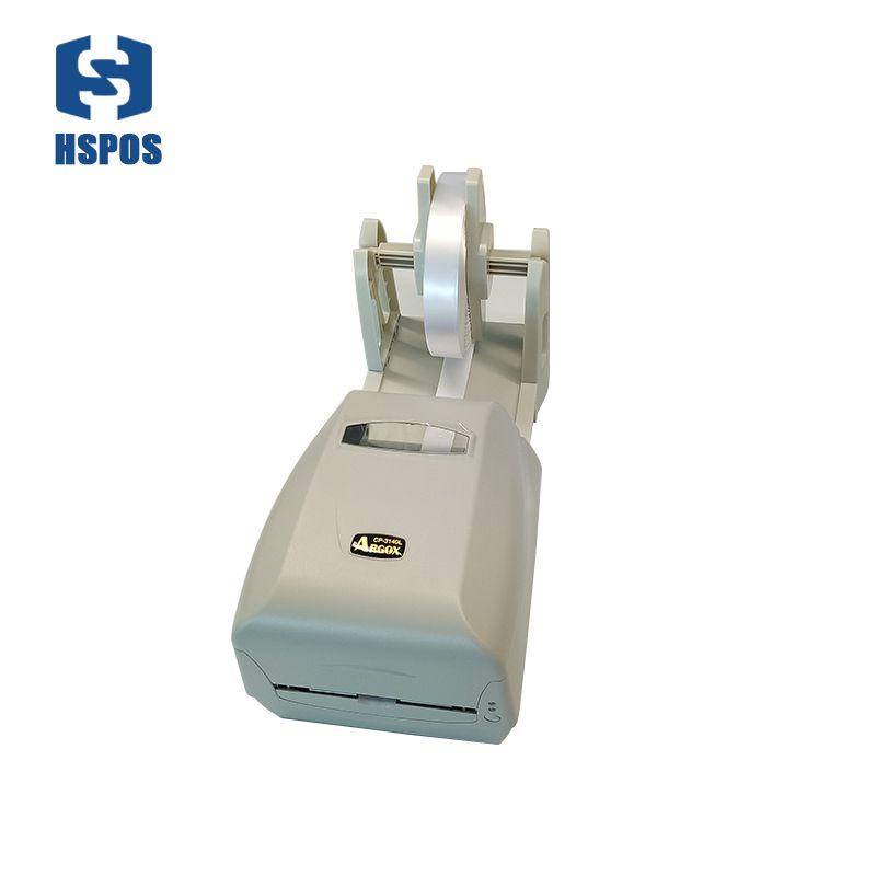Wunderbare waschende markierung druck lösung Argox CP-3140 barcode-drucker hohe qualität papierhalter label installiert band