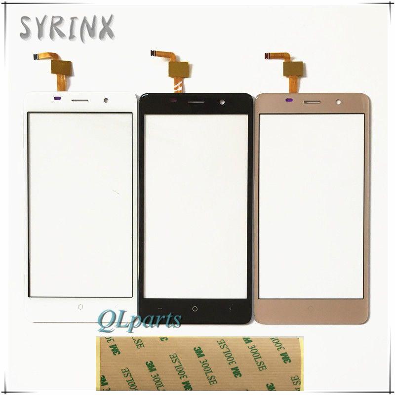 Syrinx + Bande Tactile Panneau Pour BQ BQS-5022 BQS 5022 lien Capteur Écran Tactile Digitizer Pièces De Rechange Écran Tactile Façade En Verre lentille