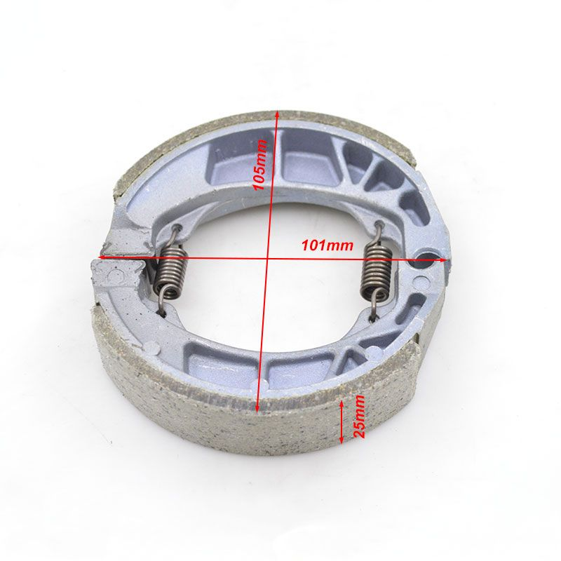 High Performance Motorcycle Rear Wheel Brake Shoe Thicken Brake Shoes Sets For Honda CG125 CG 125 125cc Brake Replacement