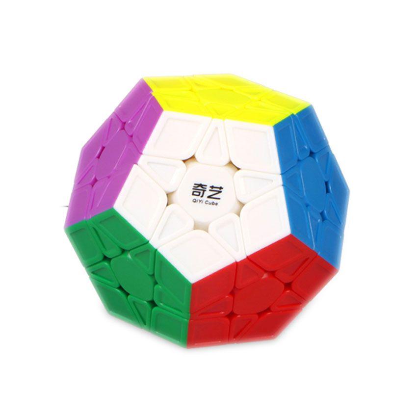QiYi Dodecahedron Megaminx Cubos Mágicos 12 Lados Sin Pegatinas Regalos Cubo Mágico Toque de Puzzle Juguetes Educativos Para Niños
