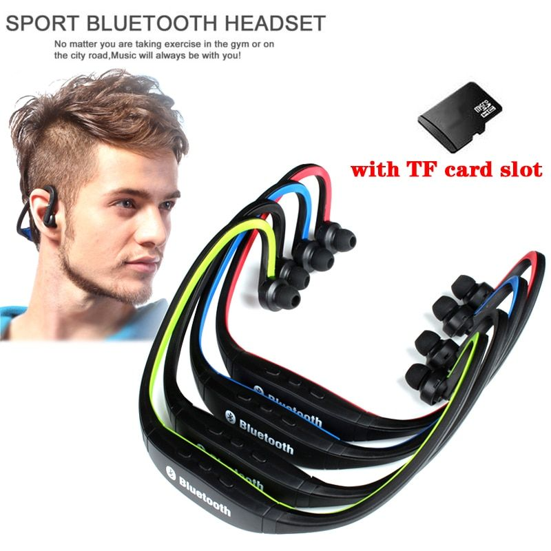 Ersuki vente chaude Sport Bluetooth écouteur S9 Plus FM SD carte Slot Bluetooth casque Microphone pour iphone Huawei XiaoMi téléphone