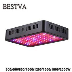 Bestva LED crece la luz 300/600/800/1000/1200/1500/1800/2000 W espectro completo para invernadero de interior crece la tienda plantas crecen luz LED