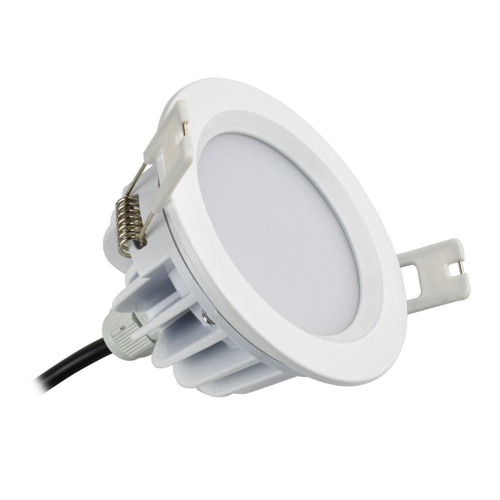 5 Вт 7 Вт светодиодный светильник 90 мм 3.5 дюйма, открытое отверстие размер 80 мм 3 дюйма AC 85-265 В IP65 для наружного ванная комната сауны потолок пя...