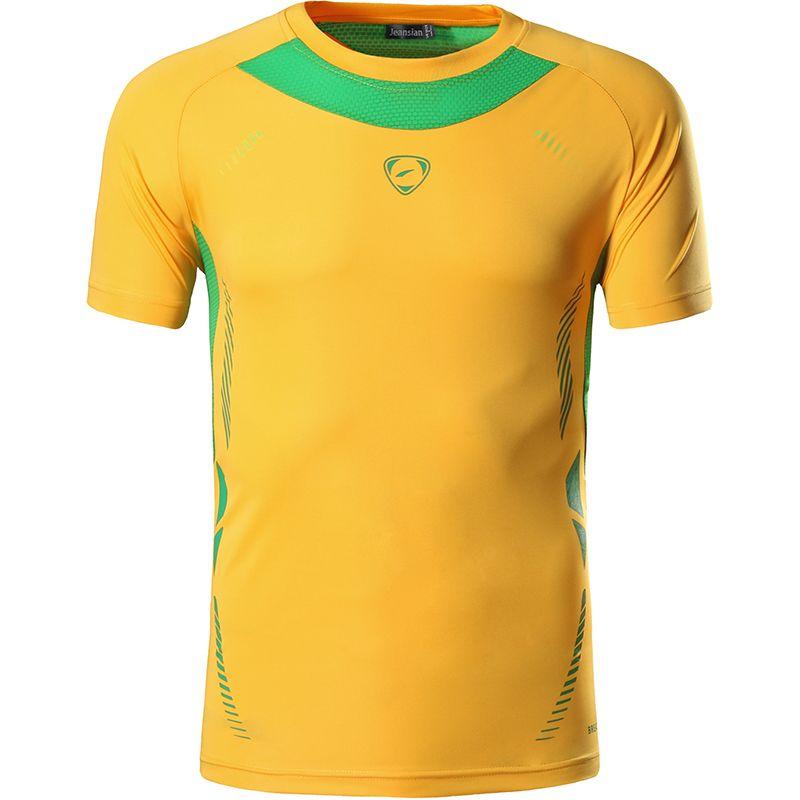 Nouvelle Arrivée 2019 hommes Designer T Shirt Occasionnel À Séchage Rapide Slim Fit Chemises Tops & T-shirts Taille S M L XL LSL3225 (S'IL VOUS PLAÎT CHOISIR USA TAILLE)