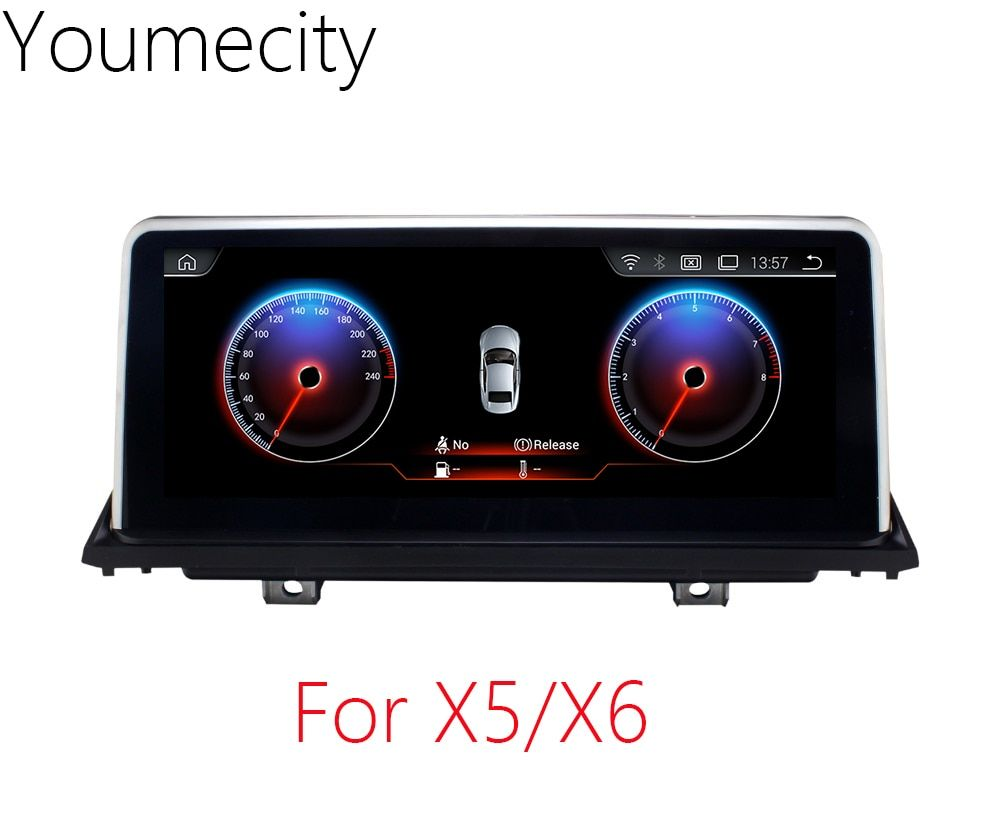 Youmecity 10.2 inch Car DVD GPS for BMW X5 E70 2007-2013/BMW X6 E71 2007-2014 radio video player Android 7.1 Wifi touch Screen