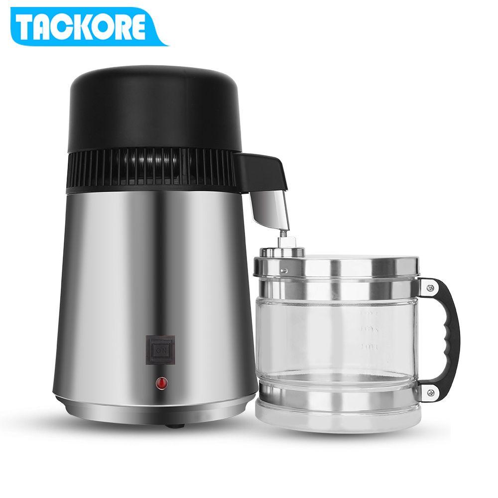 Wasserfilter Maschine 4L Hause Reines Wasser Distiller Filter Beste Hause reines Wasser Distiller Filter maschine destillation Purifier