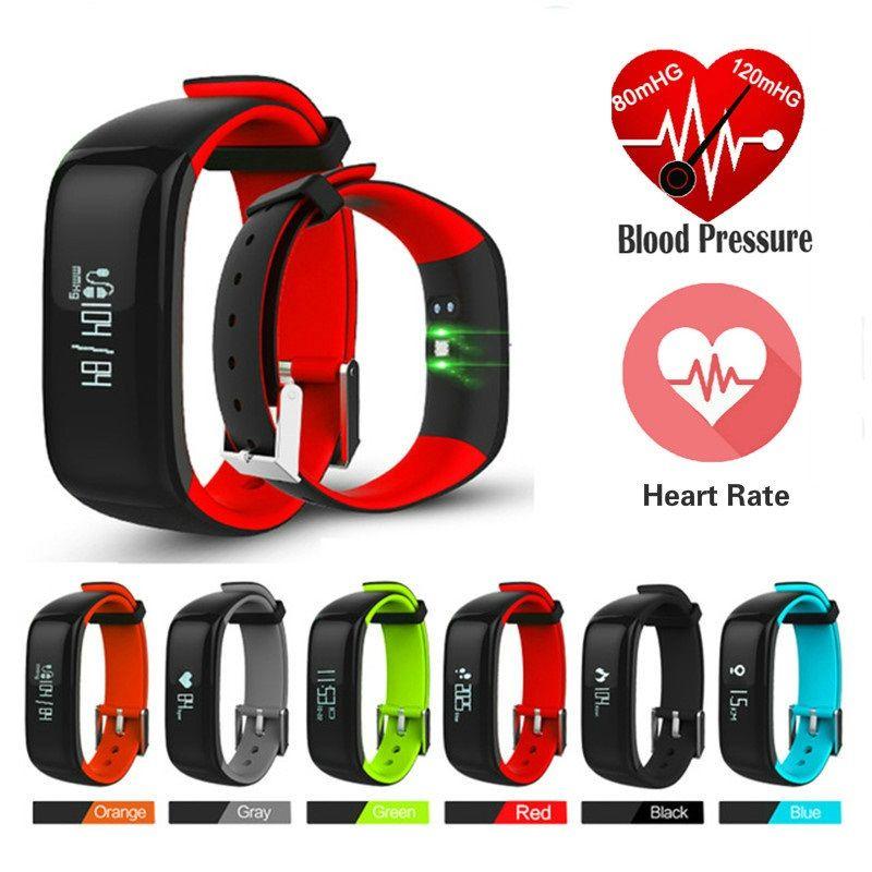 Smart Watch Blood Pressure Monitor Fitness Bracelet Activity Tracker Smart Band P1 Smartband Pedometer Wristband Smart Bracelets