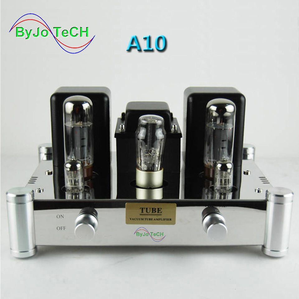ByJoTeCH A10 EL34B Single-ended 5Z4PJ Vacuum Tube Amplifier Rectifier Hifi Stereo Audio Power Amplifier AMP