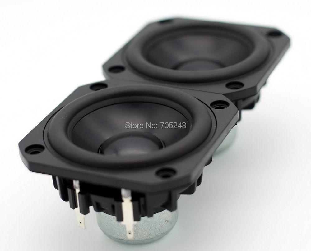pair( 2 pcs) peerless P830986 HIEND 3inch aluminum cone fullrange speaker free ship for hifi desk audio