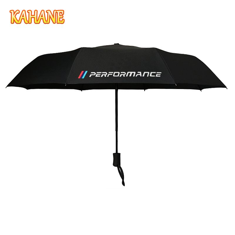 KAHANE M Performance Automatic Men & Women Sun Rain Umbrella For BMW E60 E46 E39 E60 E90 F30 E36 F10 X5 E70 X5 E53 E30 F20 E34