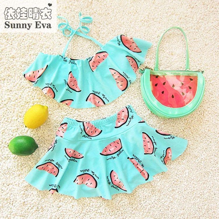sunny eva bikini girl child summer 2017 infant swimwear kids girl bikiny bathing suit swimming mermaid tail two pieces