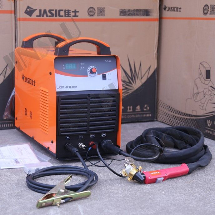 380V 100A Jasic LGK-100 CUT-100 Air Plasma Cutting Machine Cutter with P80 Torch English Manual included JINSLU