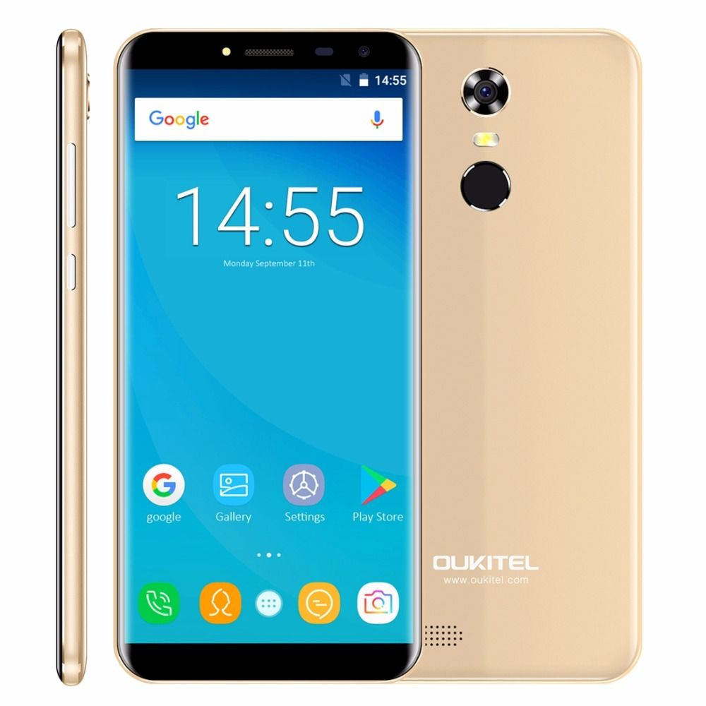 Oukitel C8 18:9 Aspect Ratio Mobile Phone 5.5