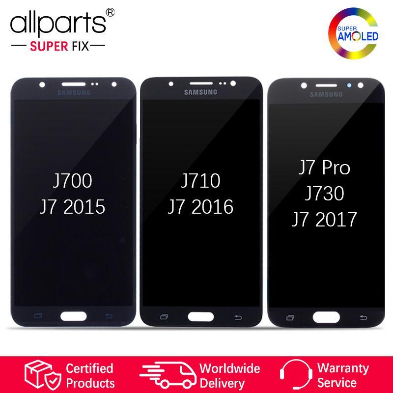 Super AMOLED For SAMSUNG Galaxy J730 LCD Display Touch Screen For SAMSUNG Galaxy J7 2015 J700 / 2016 J710 / J7 Pro J730 J730F #2