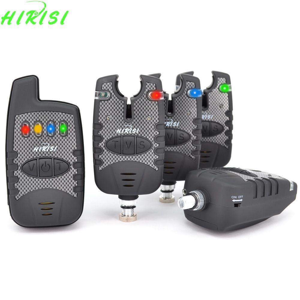Wireless Fishing Bite Alarm Set for Carp Fishing with On/off Switch Volume Tone Sensitivity Control