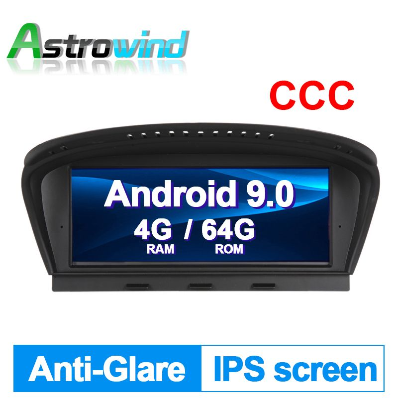 8,8 zoll 4G RAM 64G ROM Android 9.0 Auto-Player GPS Navigation Multimedia Player Für BMW 3 Serie E90 für BMW 5 Series E60 CCC