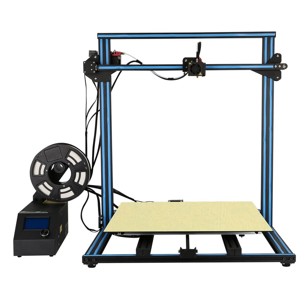 2018 Easy Build CR-10 5S 3D Printer Large print Size 500*500*500mm with Filaments+Hotbed+8G SD card+Tools as a gift Creality 3D